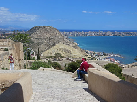 Panoramic View from the Alicante Castle