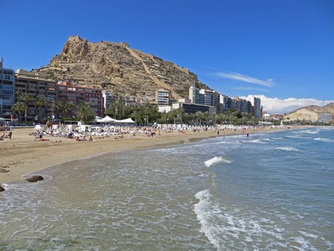Postguet Beach, Alicante Spain